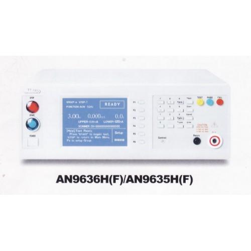 Hipot/Insulation Resistance Tester AN9636H(F) / AN9635H(F) AC/DC